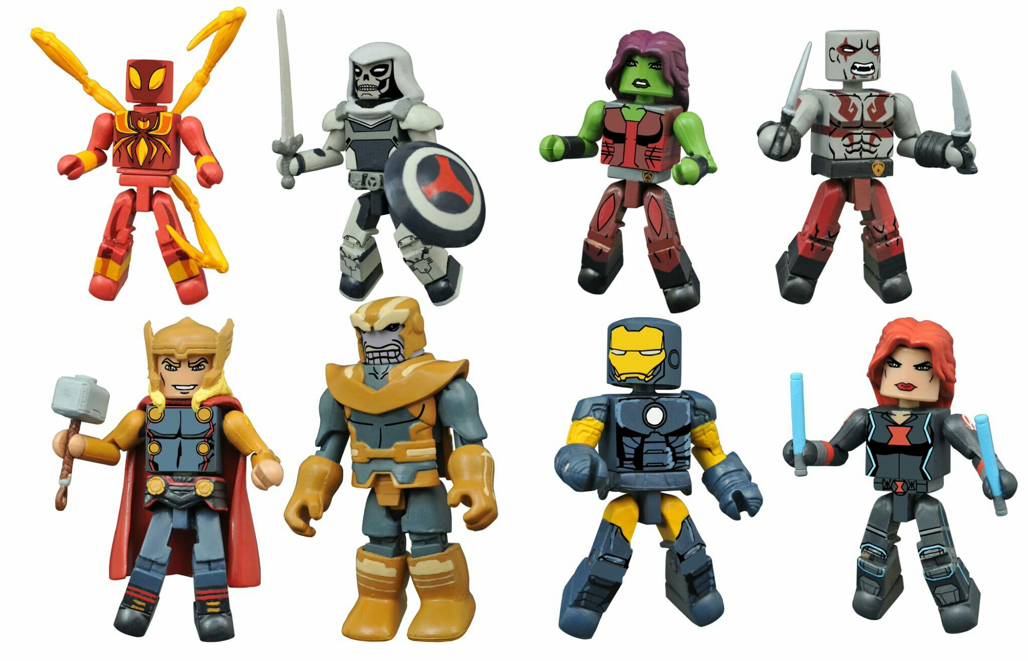 Marvel Animated Universe Gets New Minimates at Walgreens in 2016 ...