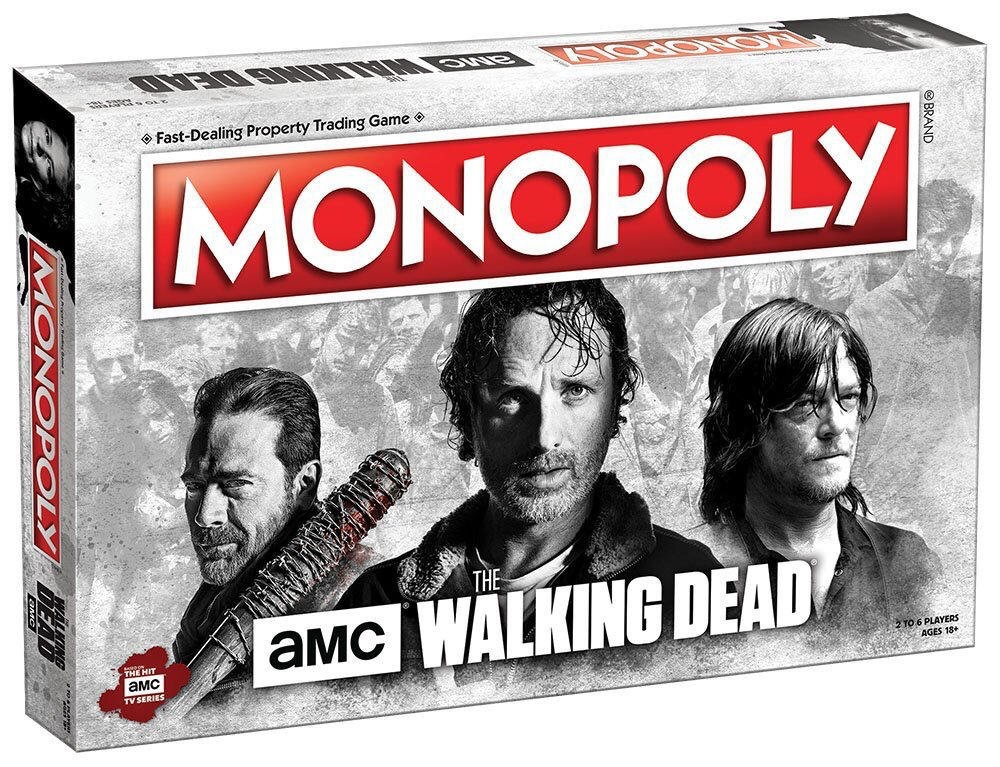 AMC's The Walking Dead Monopoly Review