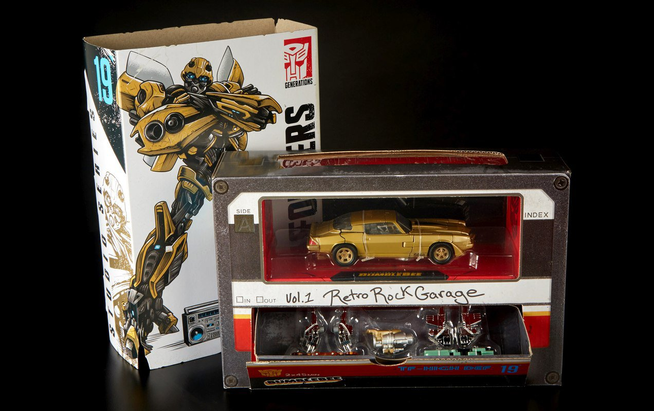Sdcc 2018 Bumblebee And His Japanese Cassette Tapes